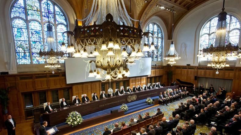 Symbolbild - Der Internationalen Gerichtshofs in Den Haag.