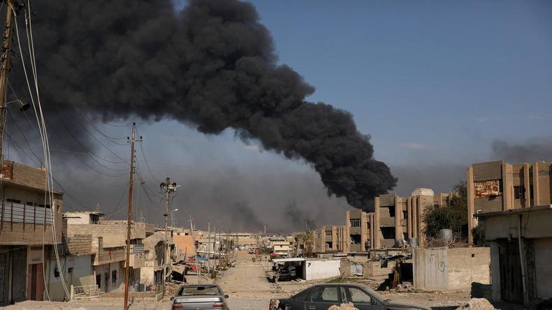 Mossul-Offensive und die humanitären Folgen: 50.000 Menschen auf der Flucht, davon 27.000 Kinder