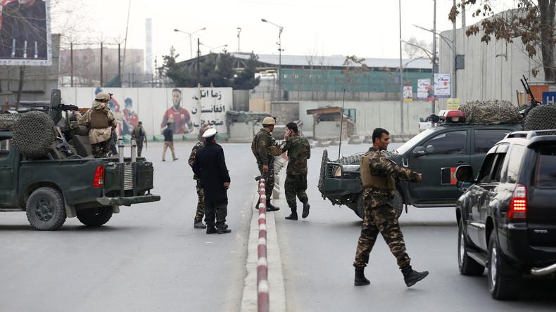 Mindestens zwei Menschen sterben bei Terrorangriff auf Militärhospital in Kabul