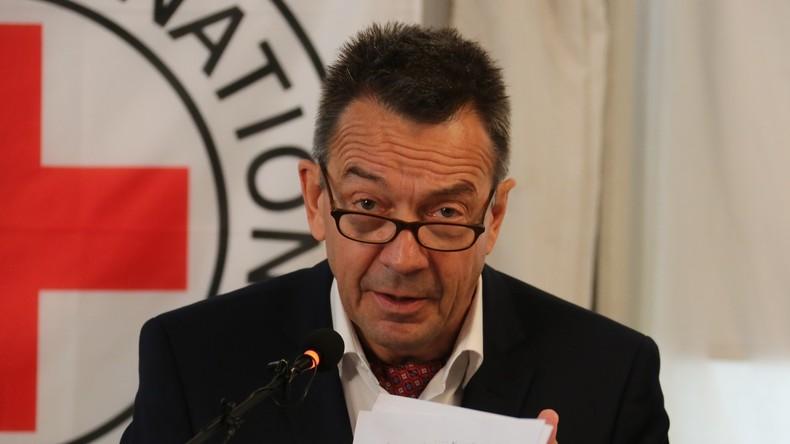 """Rotkreuz-Präsident Peter Maurer: """"Die Situation im Donbass ist äußerst schwierig"""""""