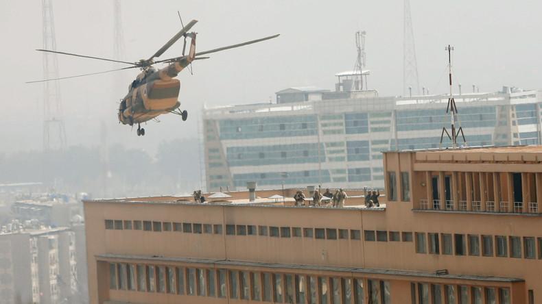 Afghanische Sicherheitskräfte töten alle Angreifer auf Militärhospital in Kabul