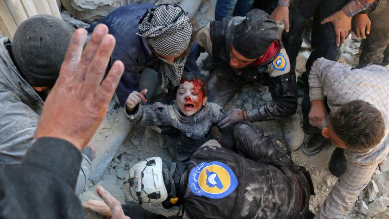 Schwedische Ärzte: Lebensrettende Maßnahmen der White Helmets sind gestellt und gefährlich