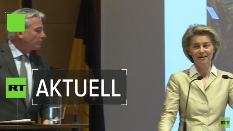 Verteidigungsministerin Ursula von der Leyen: Bundeswehr hat große Erfahrung mit Terroranschlägen