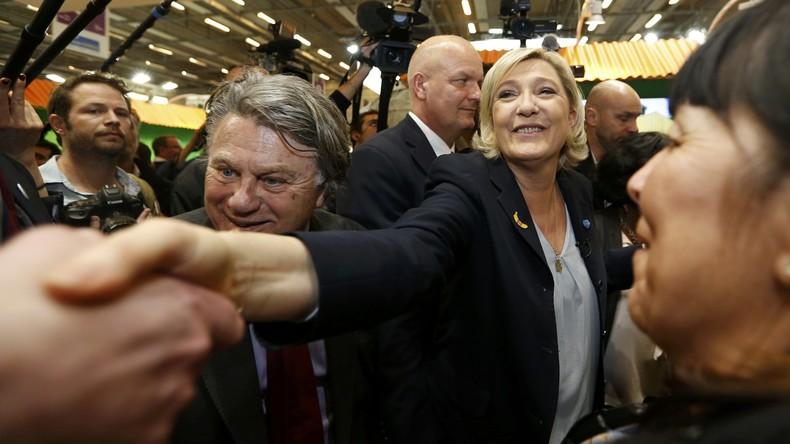 Französische Politiker verhelfen Marine Le Pen mit Unterschriften zu Wahlantritt