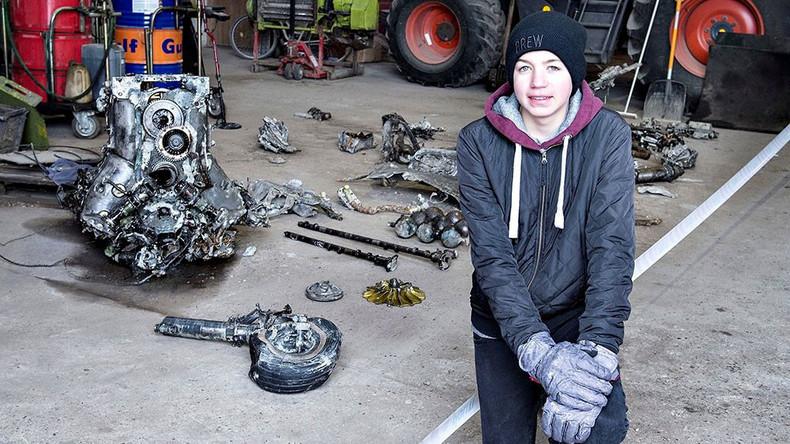 Dänischer Schüler gräbt Wehrmachts-Flugzeug mit Überresten des Piloten als Hausaufgabe aus