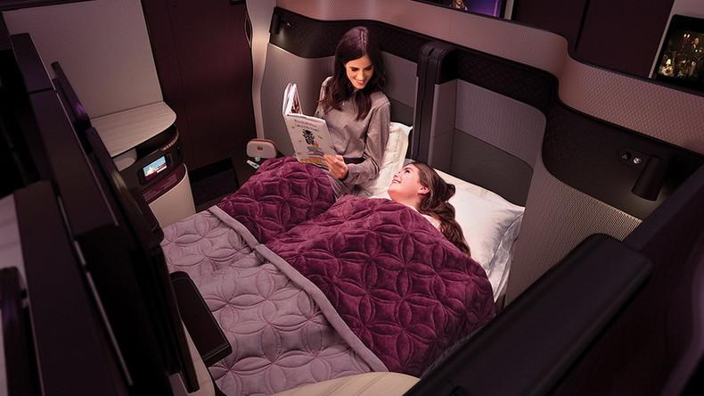 Qatar Airways stellt neue Business Class mit Suiten und rosé-goldenen Sitzen vor