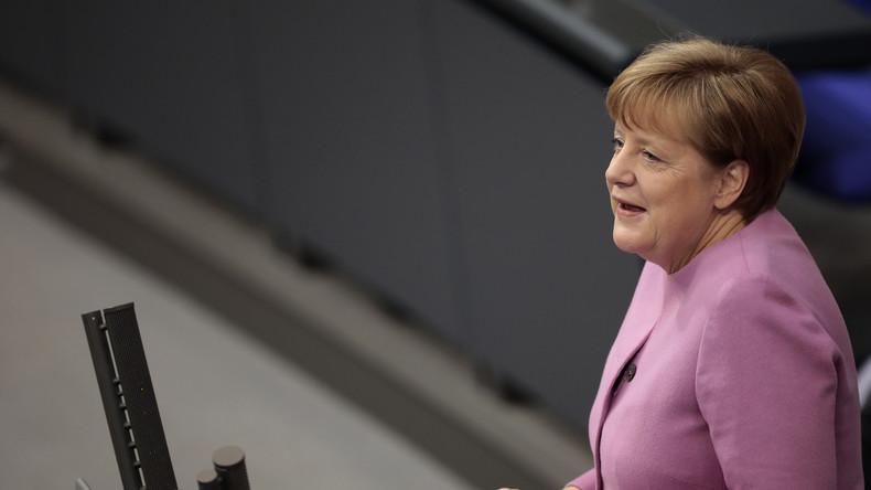 Merkel kritisiert Türkei in Regierungserklärung und ruft zur Deeskalation auf
