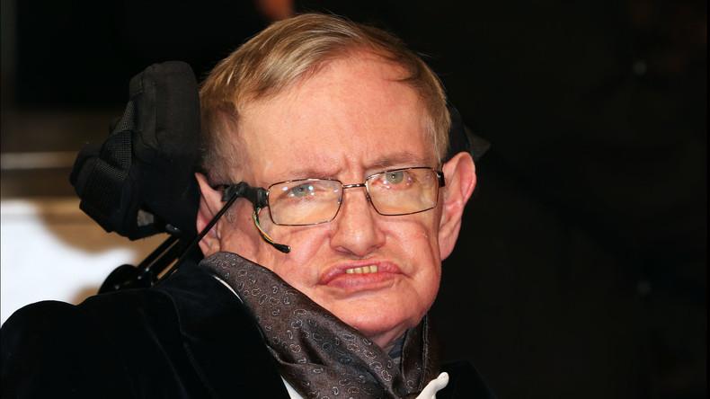 Stephen Hawking plädiert für Gründung einer Weltregierung