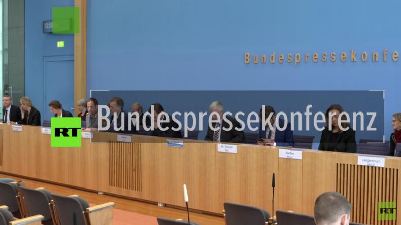 Auswärtiges Amt auf Bundespressekonferenz: Dank Bundeswehr alles gut in Afghanistan