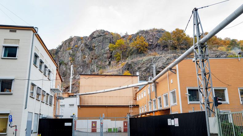 Der Forschungsreaktor Halden in Norwegen hätte im Oktober 2016 beinahe eine Katastrophe verursacht. Gesamtansicht des Forschungsreaktors; Oktober 2016.