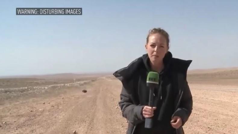 Horror in Palmyra: Leichen von Kindersoldaten und geköpfte syrische Offiziere in der Wüste