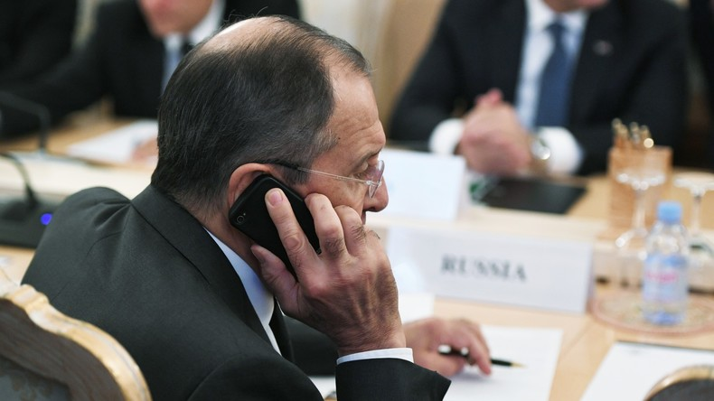 Russischer Außenminister Lawrow: Zu wichtigen Verhandlungen nehme ich kein Telefon mit