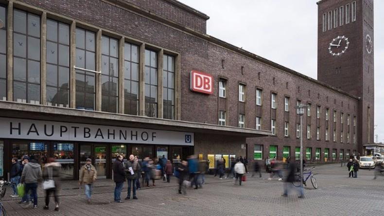 Hauptbahnhof in Düsseldorf
