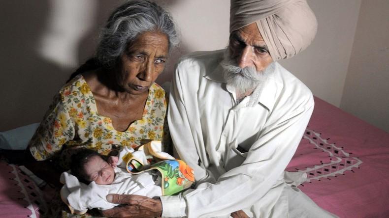 Inderin wird mit 72 Jahren Mutter und erzählt über Konsequenzen einer späten Schwangerschaft