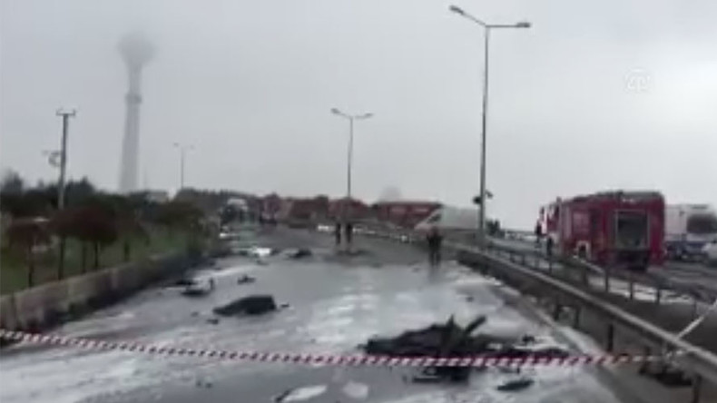 Hubschrauberabsturz in Istanbul – vier Russen und türkischer Pilot tot