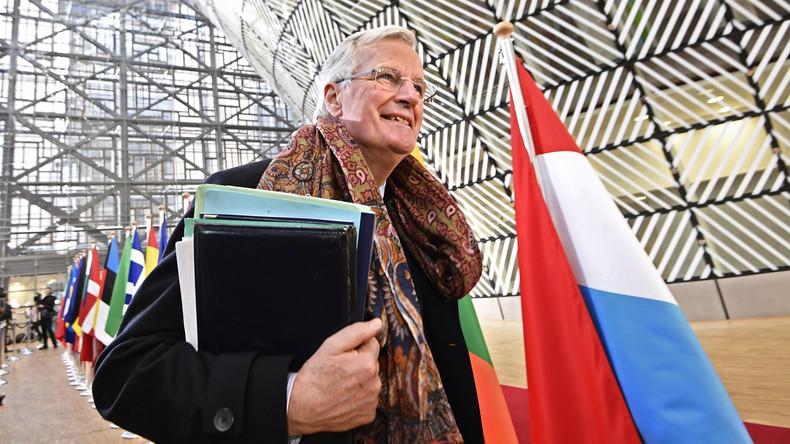 Der Brexit-Verhandler für die EU-Seit Michel Barnier