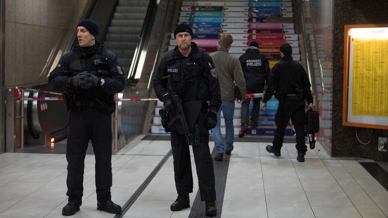 Polizei: Axt-Angreifer vom Düsseldorfer Hauptbahnhof leidet an paranoider Schizophrenie
