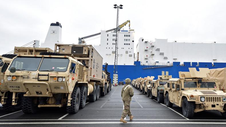 Ramstein & Co reichen nicht mehr aus: US-Army sucht neue Stützpunkte in Deutschland