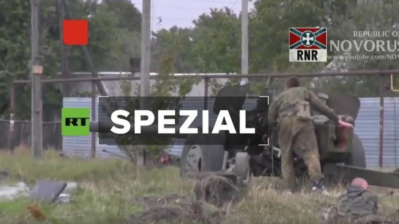 RT Spezial: Besuch bei einem internationalen Freiwilligen-Bataillon in Donezk