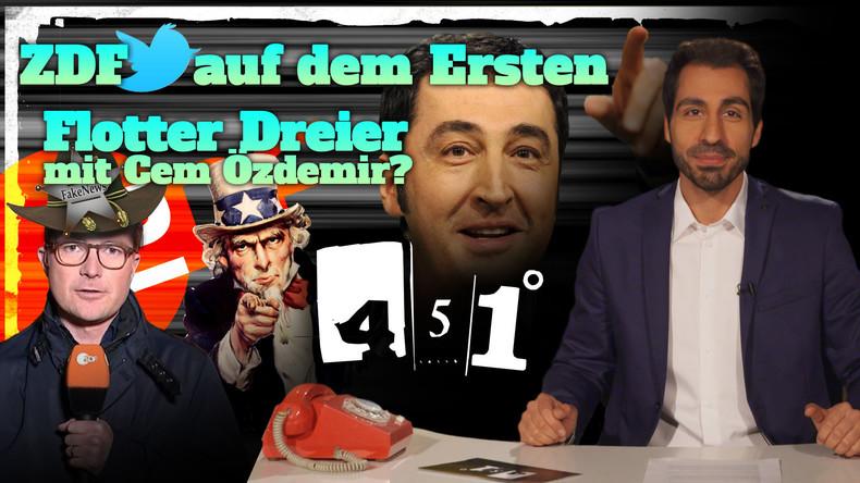 451 Grad: ZDF Korrespondent entdeckt Infokrieg | Özdemir will keinen Dreier [24]