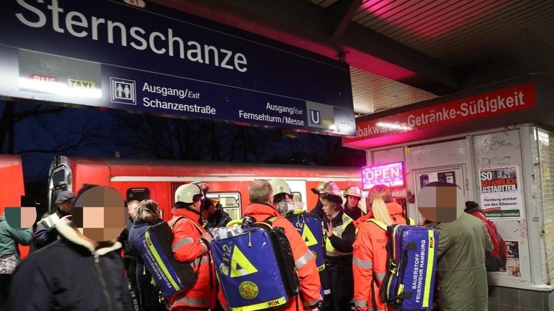 Unbekannte versprühen Reizgas in Hamburger S-Bahn, zwei Kleinkinder verletzt