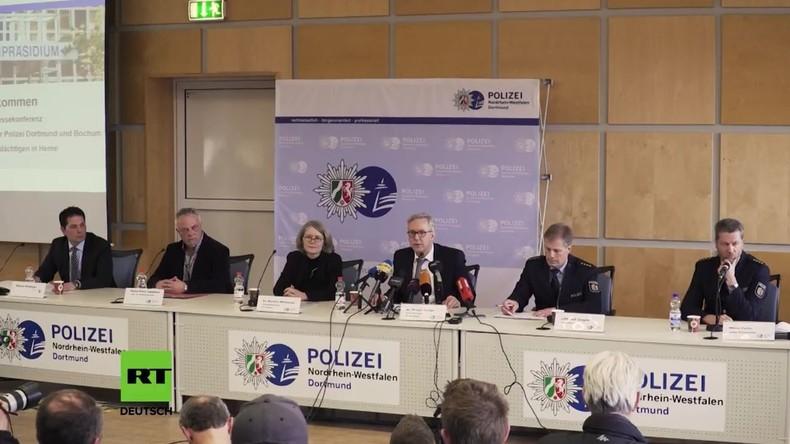 Pressekonferenz im Fall des Kindermörders Marcel H.