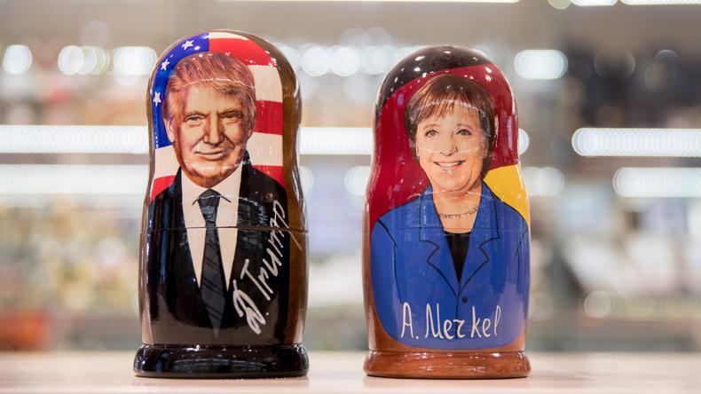 Ohne Fleiß keine Ergebnisse: Angela Merkel bereitet sich auf Treffen mit Trump vor
