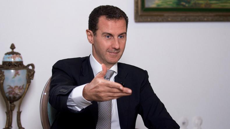 """Baschar al-Assad: """"Was wollen die Amerikaner in Syrien? Ohne Einladung sind sie Invasoren!"""""""