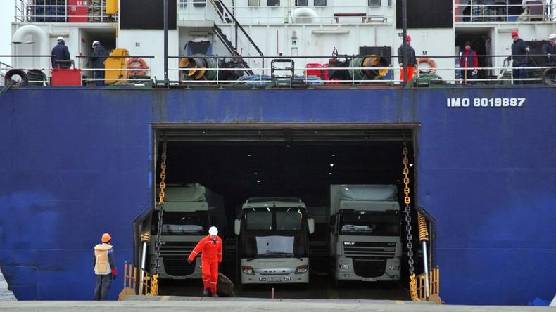 Ankara stellt Fährverbindung mit der Krim ein