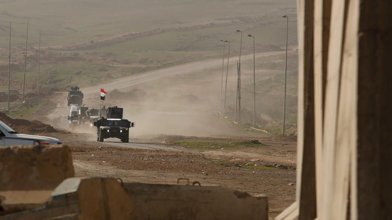 Irakische Truppen befreien mehr als ein Drittel von Mossul