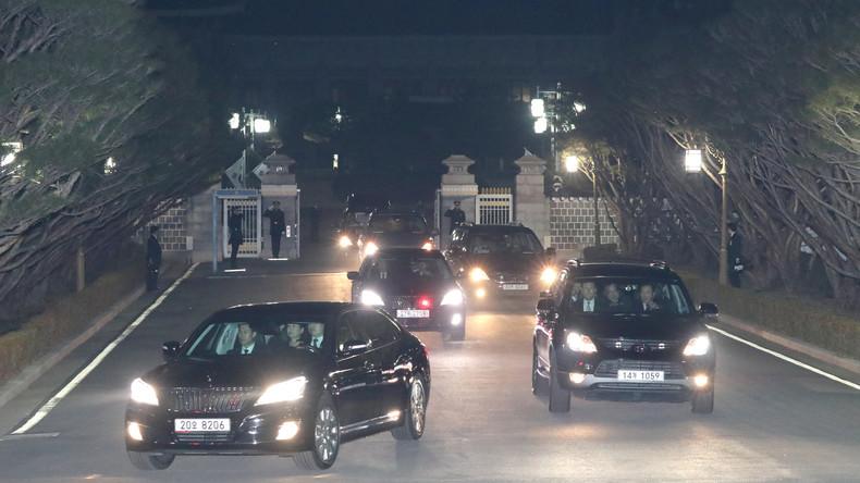 Südkoreanische Ex-Staatschefin verlässt Präsidentenpalast