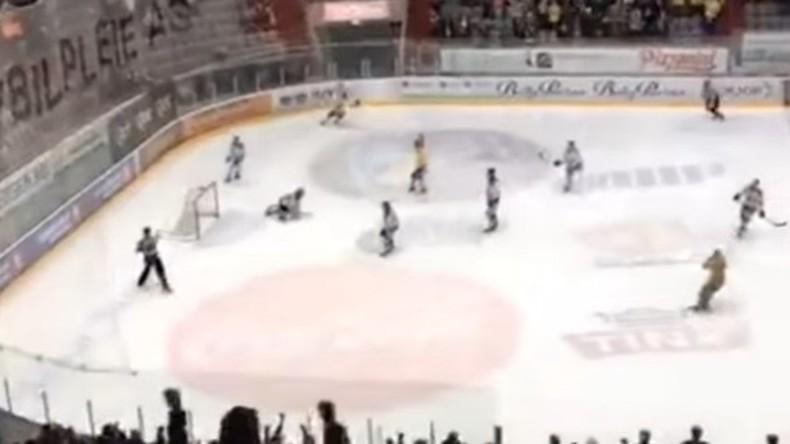 Acht-Stunden-Tag auf Kufen: Eishockeyspiel in Norwegen wird längstes in der Geschichte