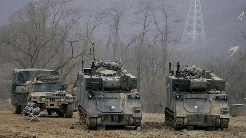 Südkorea und USA starten gemeinsame Militärübungen Key Resolve