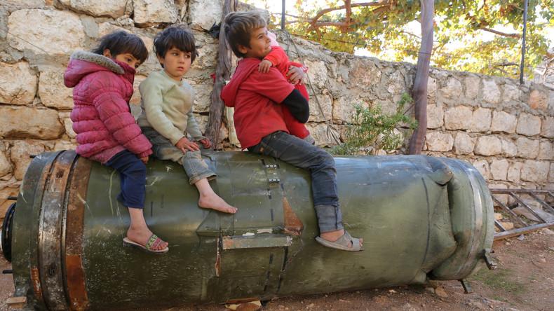 UNICEF: Rekordzahl von Kindern im Jahr 2016 im Syrien-Krieg getötet