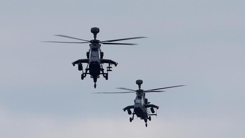 Deutschland verlegt erste Tiger-Kampfhubschrauber nach Mali