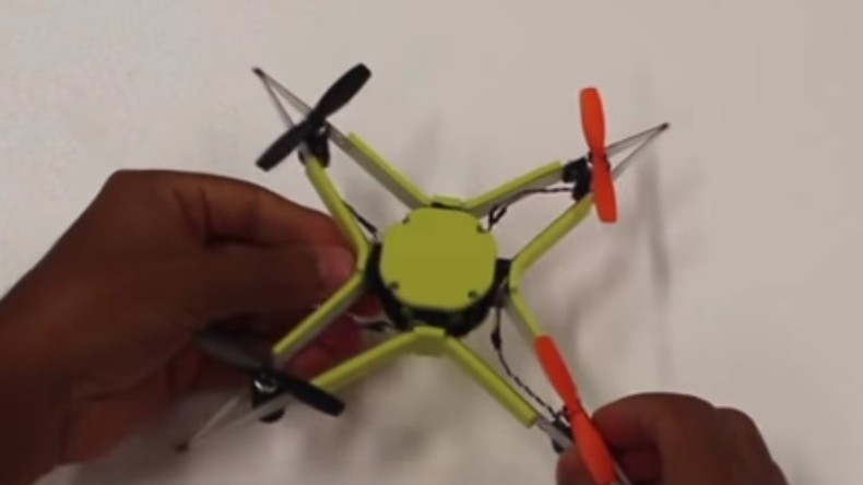Schweizer Wissenschaftler entwickeln unzerstörbare Drohne [VIDEO]