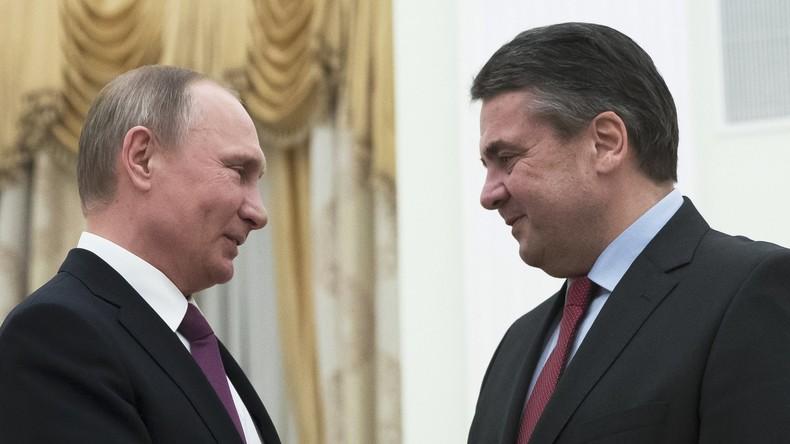 Ansturm deutscher Politiker in Moskau: Neue Lage, alte Lager
