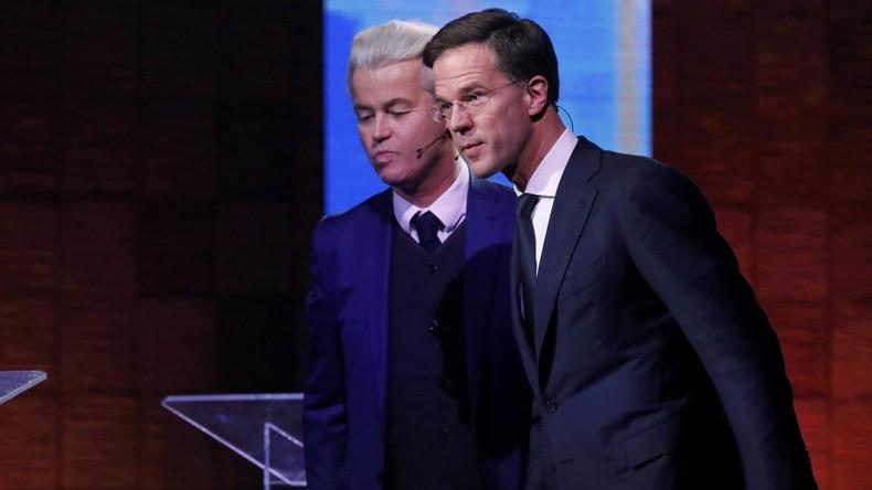 TV-Debatte in den Niederlanden: Kein eindeutiger Sieger zwischen Rutte und Wilders
