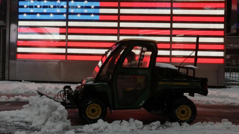 USA: Über 100.000 Menschen wegen Schneesturm ohne Strom