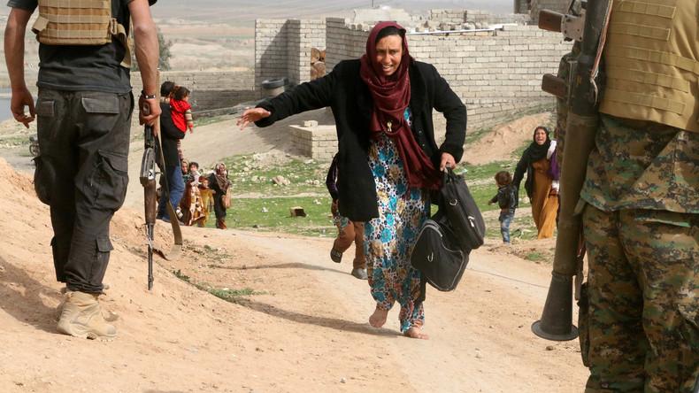 Angriff auf Mossul: Immer mehr Zivilisten werden Opfer von US-Bomben