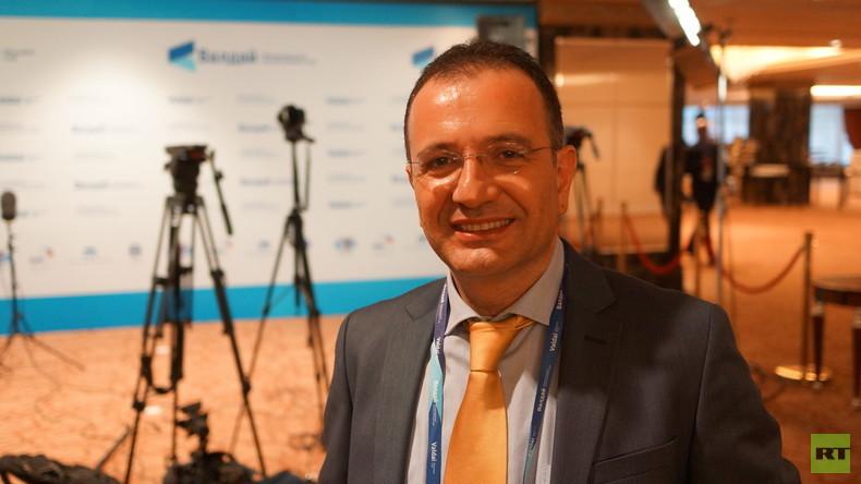 """RT-Deutsch Exklusiv-Interview: """"Syrische Energiereserven primärer Treiber für Konflikt"""""""