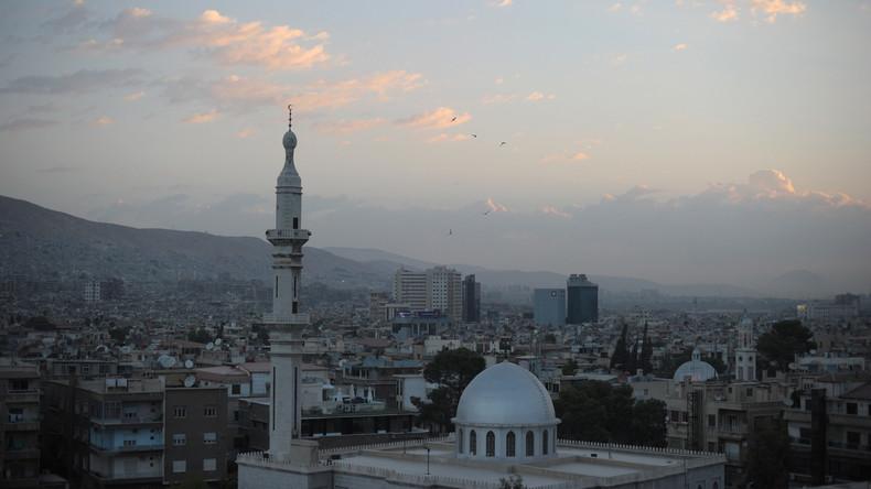 Heftige Explosion im Justizpalast in Damaskus - Selbstmordanschlag fordert mehrere Menschenleben