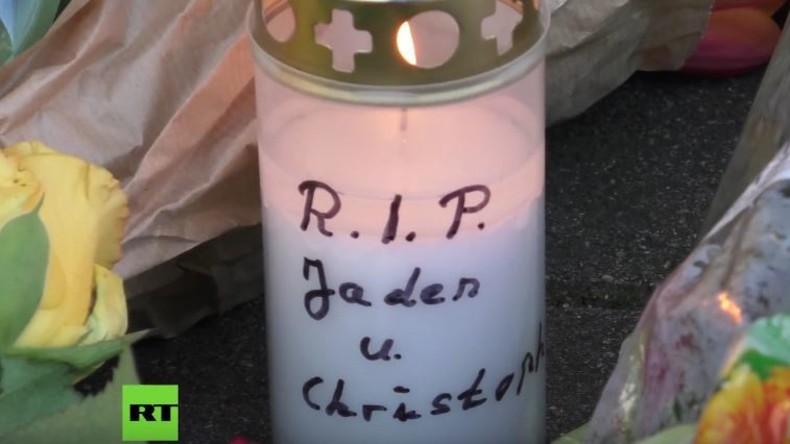 RT AKTUELL: Nach Doppelmord in Herne - Trauerfeier für Christopher und Jaden