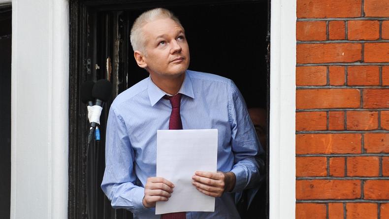 Julian Assange wirft Twitter Doppelstandards vor