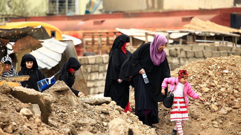 Zivilisten in Mossul: Warum berichtet niemand über ihr Leid?