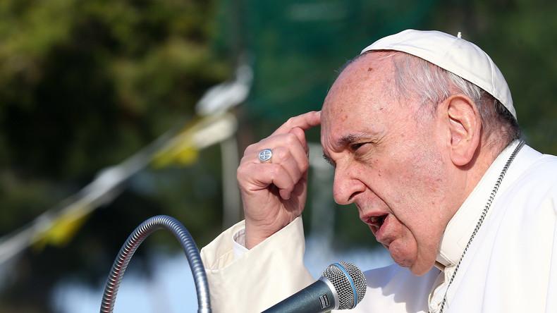 Papst Franziskus hält Fabrikschließungen und Personalentlassungen für Sünde