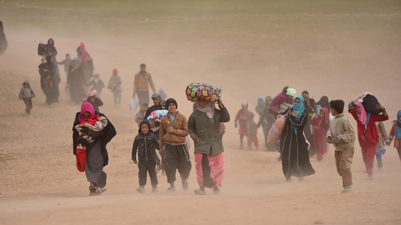 Mossul: Schwere Kämpfe um Stadtzentrum führen zu humanitärer Katastrophe