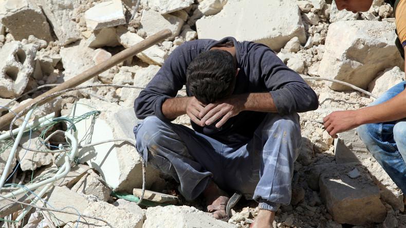 Dutzende Tote bei Angriff auf Moschee nahe Aleppo: US-Militär bestätigt Luftschlag