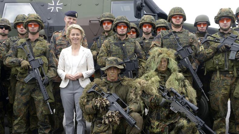 Aktivitätsindex: Von der Leyen für flexible Auslegung der Zwei-Prozent-Forderung der Nato