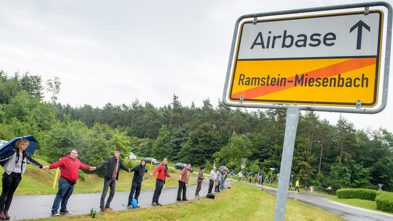 Globale Kriegsdrehscheibe: USA planen umfassenden Ausbau von Militärstützpunkt Ramstein